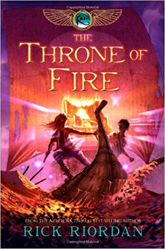 The Throne of Fire Audiobook