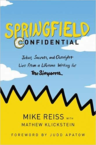 Mike Reiss - Springfield Confidential Audio Book Free