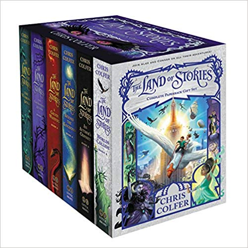 Chris Colfer - The Land of Stories Complete Paperback Gift Set Audio Book Free